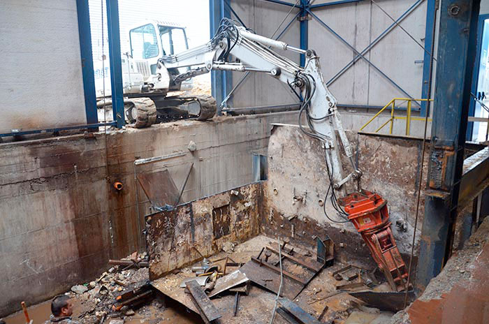 decommissioning impianti industriali