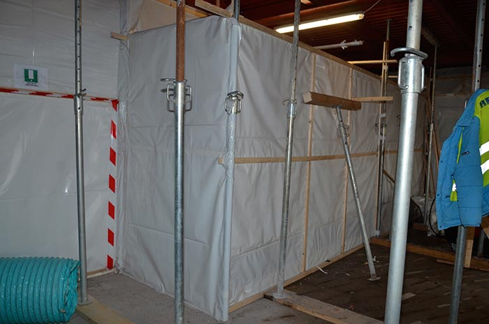 bonifica edificio rimozione amianto