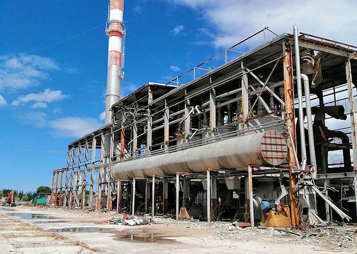 bonifica impianti industriali