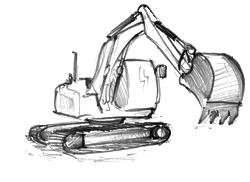 noleggio cingolati per demolizioni