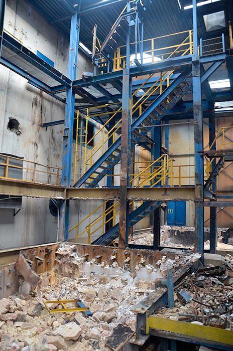 demolizioni industrie