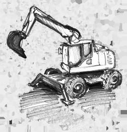 noleggio escavatori per demolizioni